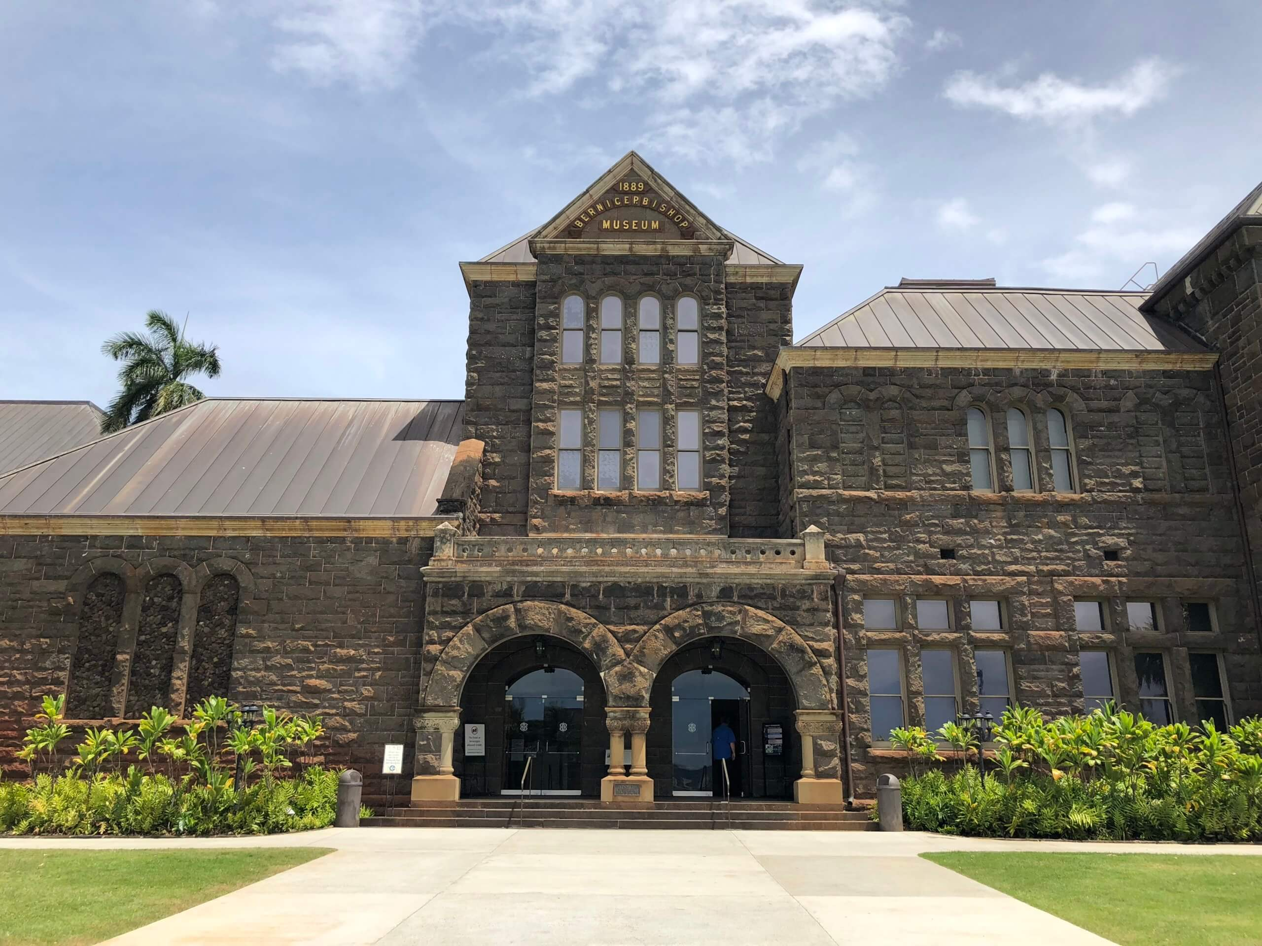 The Bishop Museum is Hawaii's premier natural and cultural history museum