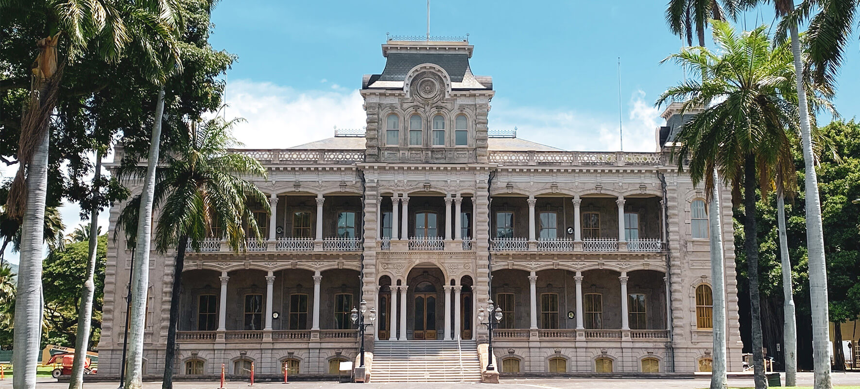 Iolani Palace was and continues to be the only official royal residence in the United States