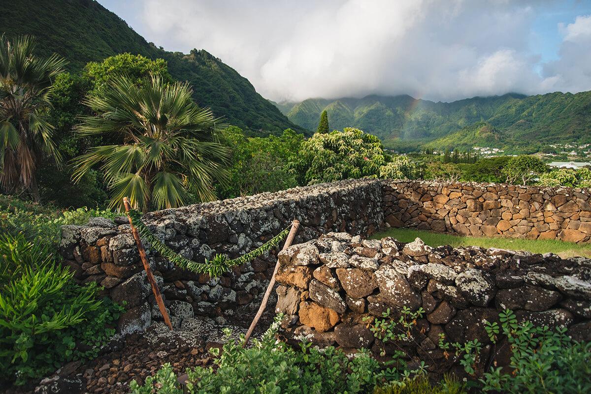 Kūkaʻōʻō Heiau at Manoa Heritage Center