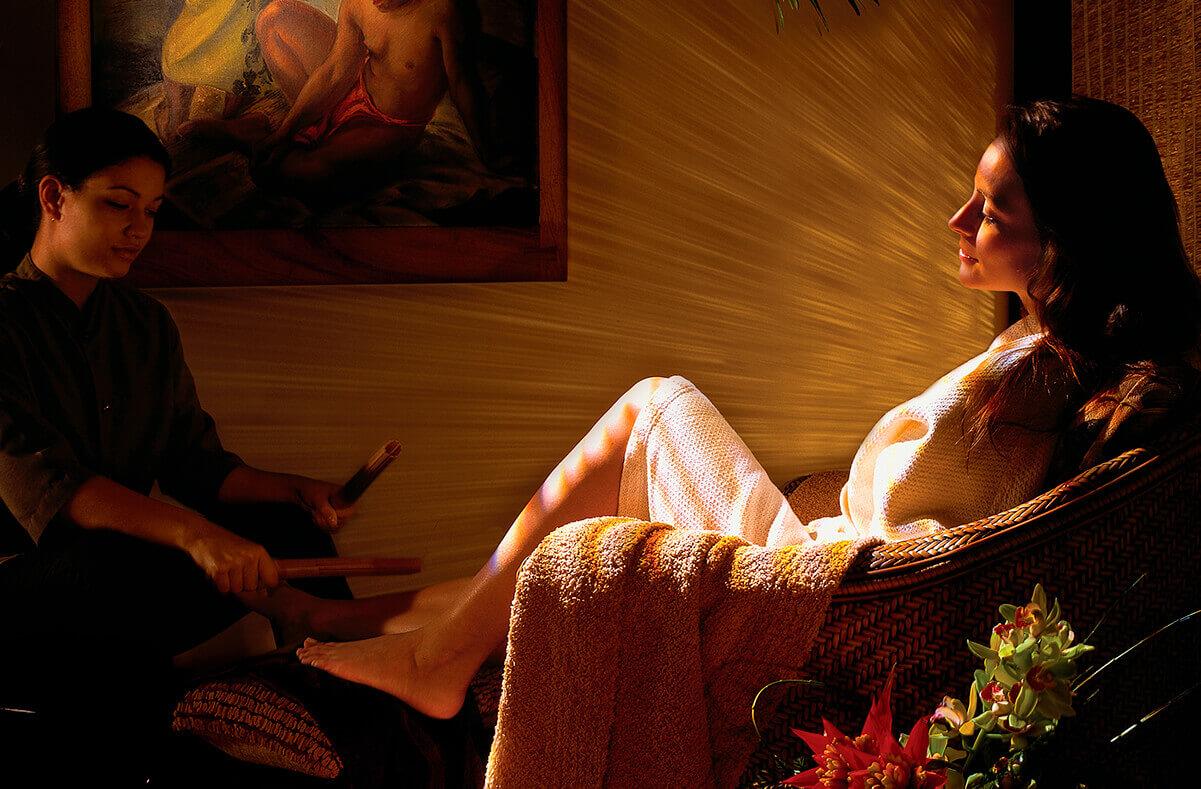Indulge in signature spa treatments at SpaHalekulani