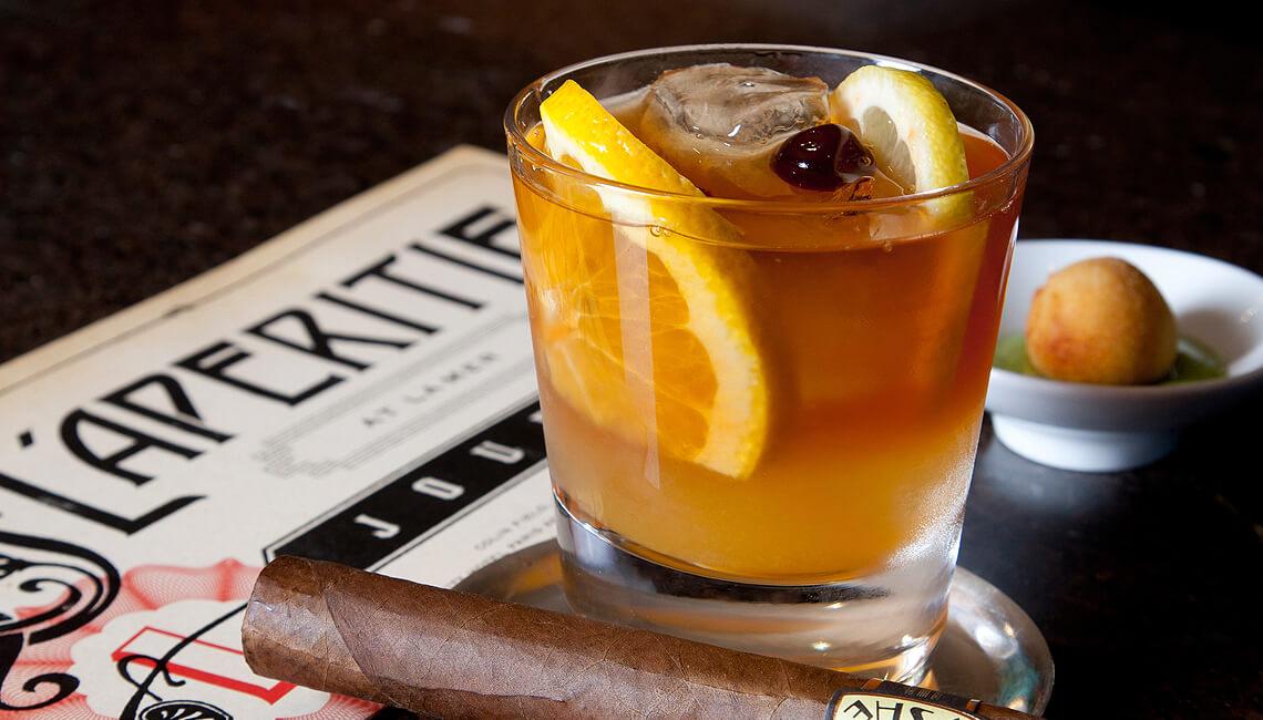 Hemingway Old Fashioned at L'Aperitif Cocktail Bar