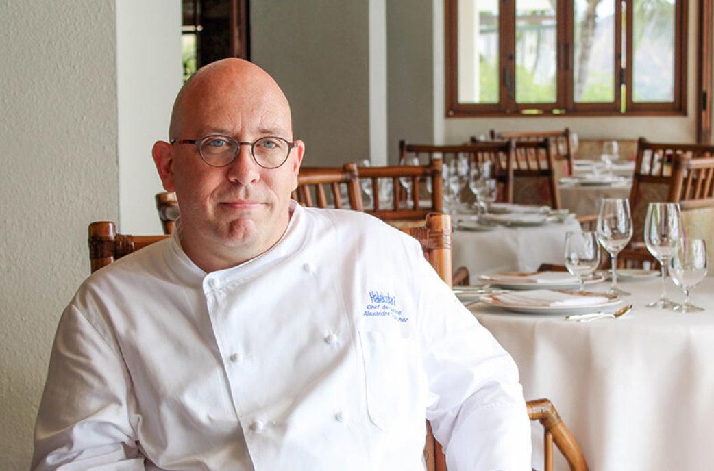 Alexandre Trancher, Chef de Cuisine at La Mer