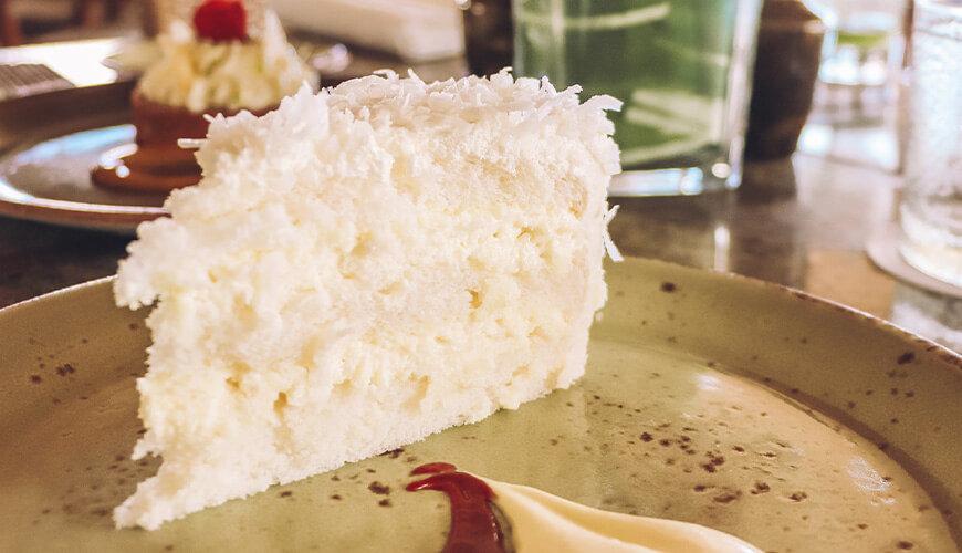 Halekulani Coconut Cake at House Without A Key