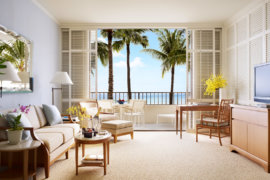 Enjoy the extra space in Halekulani's expansive suites